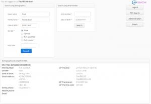 SMSP Web App - demog view